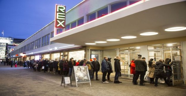 Ticket sales have unfortunately closed – Amos rex was the queue was still in the last days, and not all have fit in