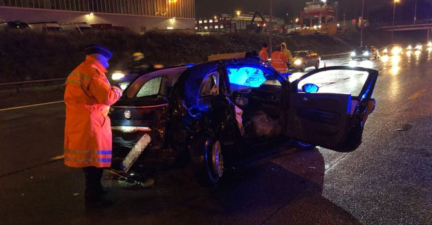 Time lost to one and a half hours after two accidents on the Antwerp ring road
