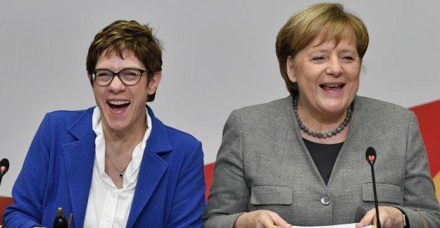 To be erased Merkel away
