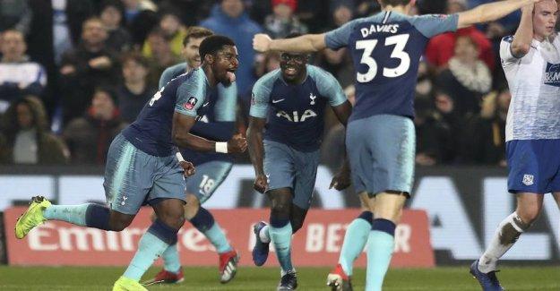 Tottenham goal-spree: Killed himself on against miniputter