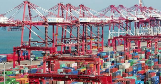 Trade dispute with the US : China's foreign trade breaks to the end of the year
