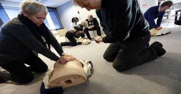 Training in cpr is called for