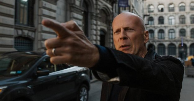 Trite and unimaginative: Bruce Willis goes crazy