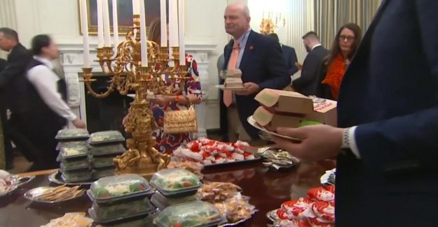 Trump offered fast food – paid