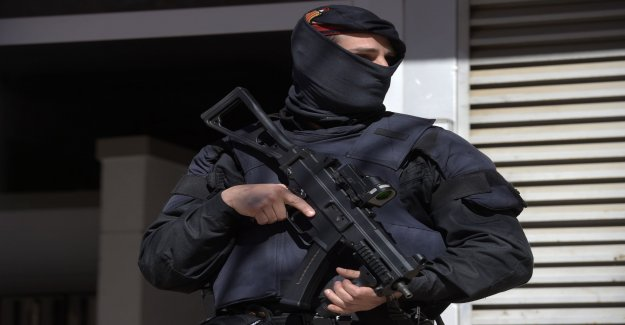 Two arrested at comprehensive Spanish terrorrazzia