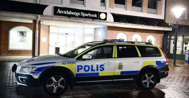 Two detainees suspected of involvement in the Åtvidabergsrån