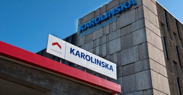 Two patients died in connection with the lack of space at the Karolinska