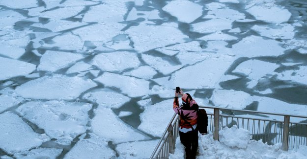 US groan under the polar vortex: thermometer dives to -29 degrees, extreme winter weather requires all 7 dead