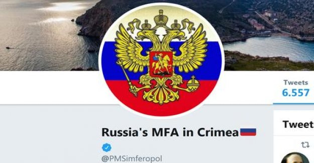 Ukraine protests against Twitter hook for Crimea-Account