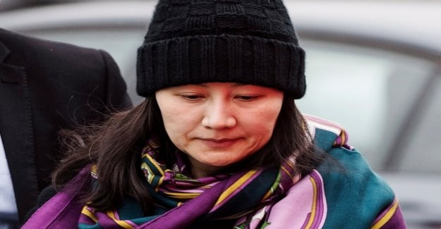 United States request for extradition of Huawei Manager