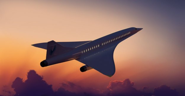 Us start-up takes 100 million dollars for the construction of a supersonic aircraft