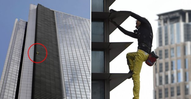 VIDEO. French 'Spider-Man' climbs without fuse tower of 47 floors in Manila