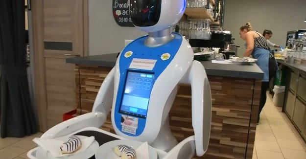 VIDEO. In this restaurant you will be served by robots