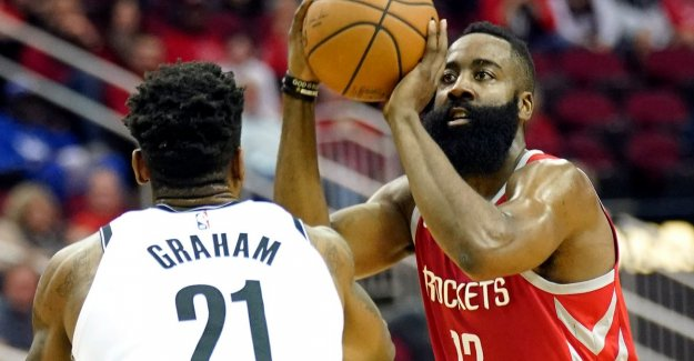 VIDEO. James Harden makes less than 58 points, but still going to Houston crashed against Brooklyn