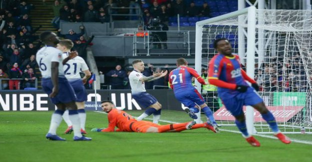 Video: the Failed penalty sealed a second cuptappion a week - with tottenham's house of cards collapsed again