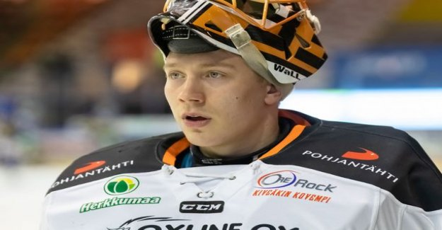 Weasels do very acquisition - HPK:n star goalkeeper Emil seminar will consists of presentations will move next season to Oulu