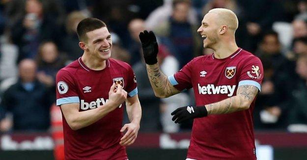 West ham-teen lowers the Arsenal in lokalderby