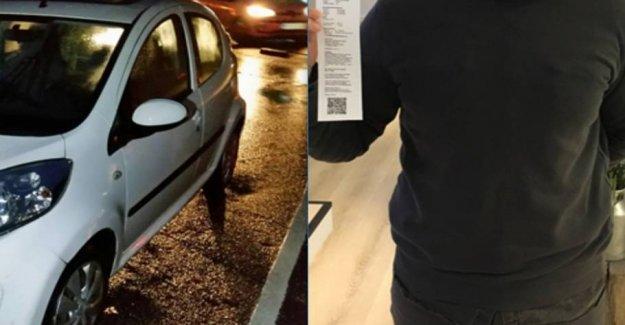William sur at McDonalds Kastrup: Got not cancelled p-fine which he wont
