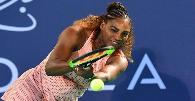 Williams won the – loaded for the meeting with Federer