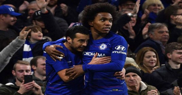 Willianin wild kuti solved win to Chelsea