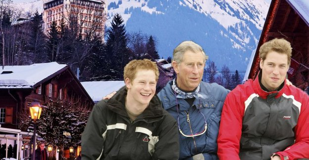 Winter wonders for 10,000 euros per night, so bring the royals and the rich their holidays in Gstaad