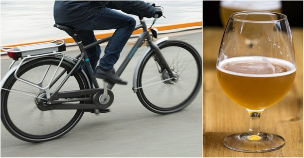 You took the ebike home drunk – convicted for drink-driving