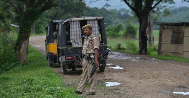 30 arrested in India: the Crowd lynchede pedophilia-suspected man