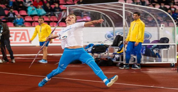 300 pounds! Finnish javelin hope a huge strength in the gym - released video