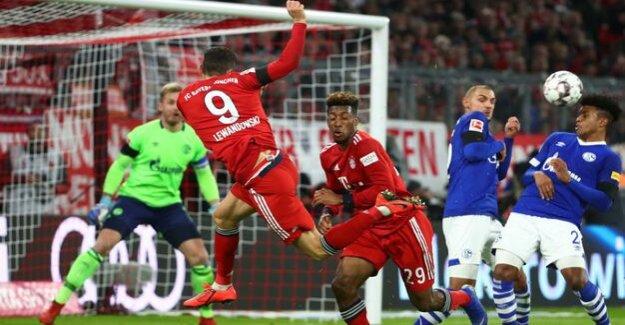 3:1-victory against Schalke 04 : FC Bayern uses of Dortmund goof