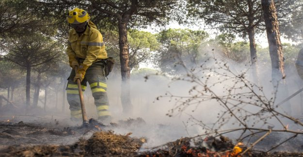 50 fires in the north of Spain
