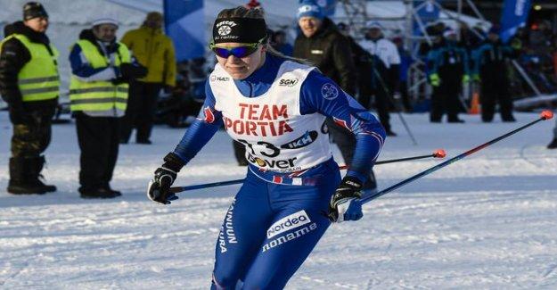 A delightful Finnish successes Salpausselkä - Joni Mäki made a hard sprint skiing, Anita Ear erävaiheeseen