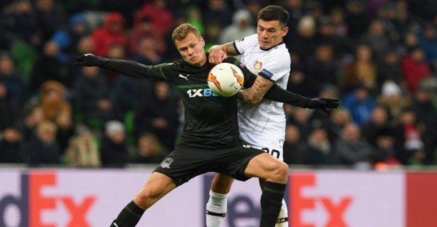 A draw for Frankfurt and Leverkusen
