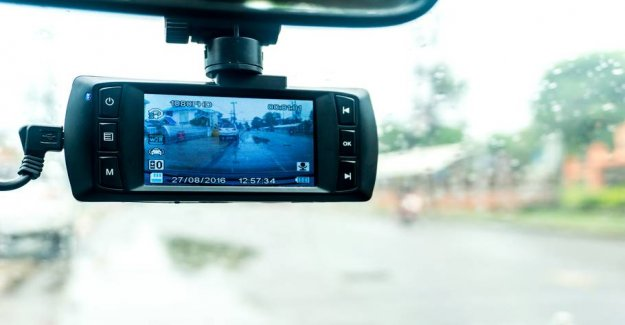 A small camera can absolve you of the responsibility for road accidents