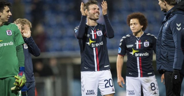 AGF striker after drømmekasse: - I have closed the mouth of the people now