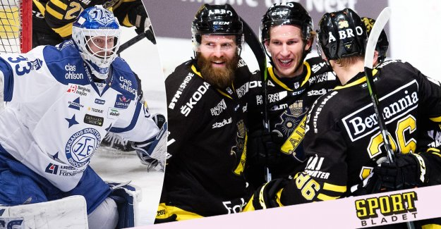 AIK won before the crowded Court – Leksands suite broken