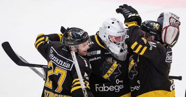 AIK won the summit after jättedrama on the crowded Court