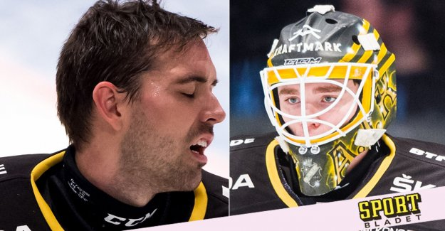 AIK's nightmare: Both goalies injured – weeks before the SHL qualification