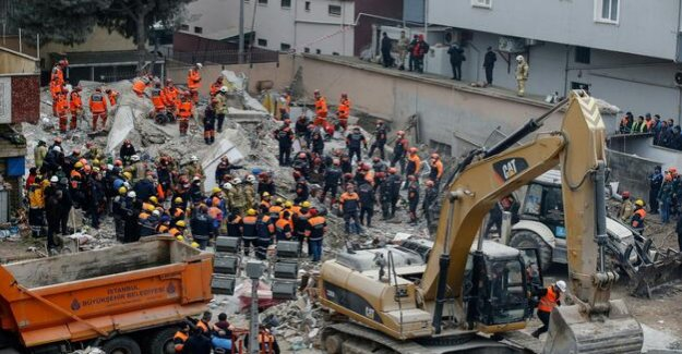 Accident in Turkey : Erdogan announces to the house collapse in Istanbul consequences