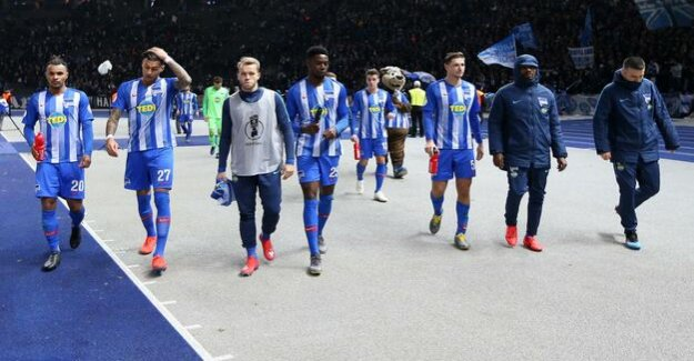 After the Cup-Out against FC Bayern münchen : Hertha BSC: Proud and tired