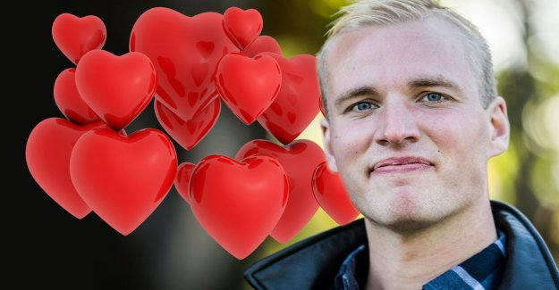 After the brutal dumping – Simon Ohlsson has found love again