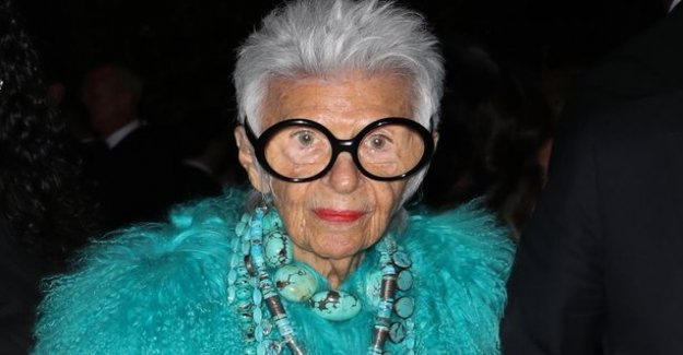 Age is just a number: Iris Apfel, 97, signed model contract – from the same office as the Hadid supermodel sisters