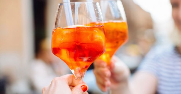Alcohol at the aperitif: we did the test