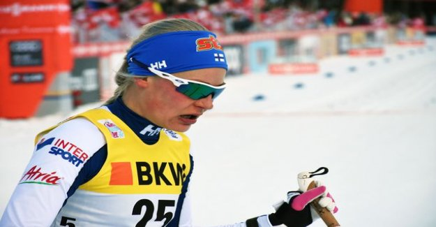 All Finnish women were the sprint qualifying round in the world cup - Anne Kyllönen best of 44:p