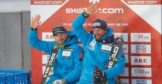 Alpine skiing : Jansrud downhill world champion Svindal goodbye with silver