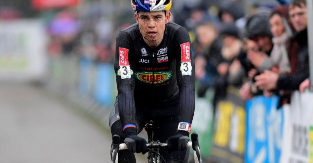 Also next winter, By Aert full-time crosser: nothing will change
