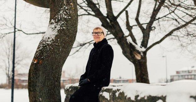 Anna Hallberg: Tua Forsström is a special kind of raccoon