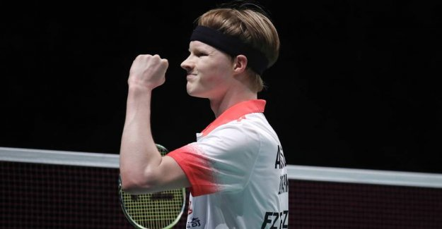 Antonsen national champion for the third time in a row