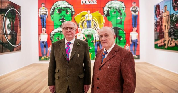 Art review: Gilbert & George the bombing with acts of provocation and love