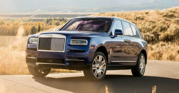 As many rich people want the SUV of Rolls-Royce, that production is not more may follow