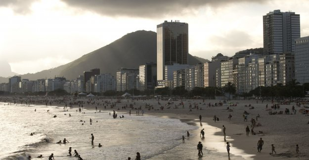 At least five dead in storms in Rio de Janeiro